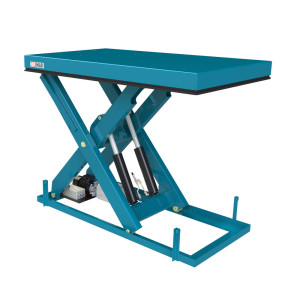 Single scissor tables