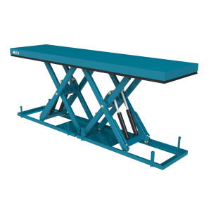 Twin scissor tables
